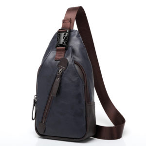 Leather Cross Shoulder Bag for Men