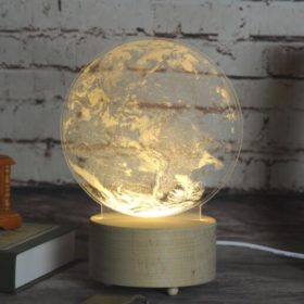 Creative Table Lamp for Home or Office Earth