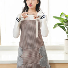Kitchen Apron with Side Towels