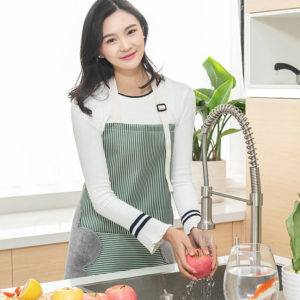 Waterproof Kitchen Apron with Side Towels