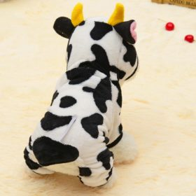 Pet Warm Sweater Cow Style