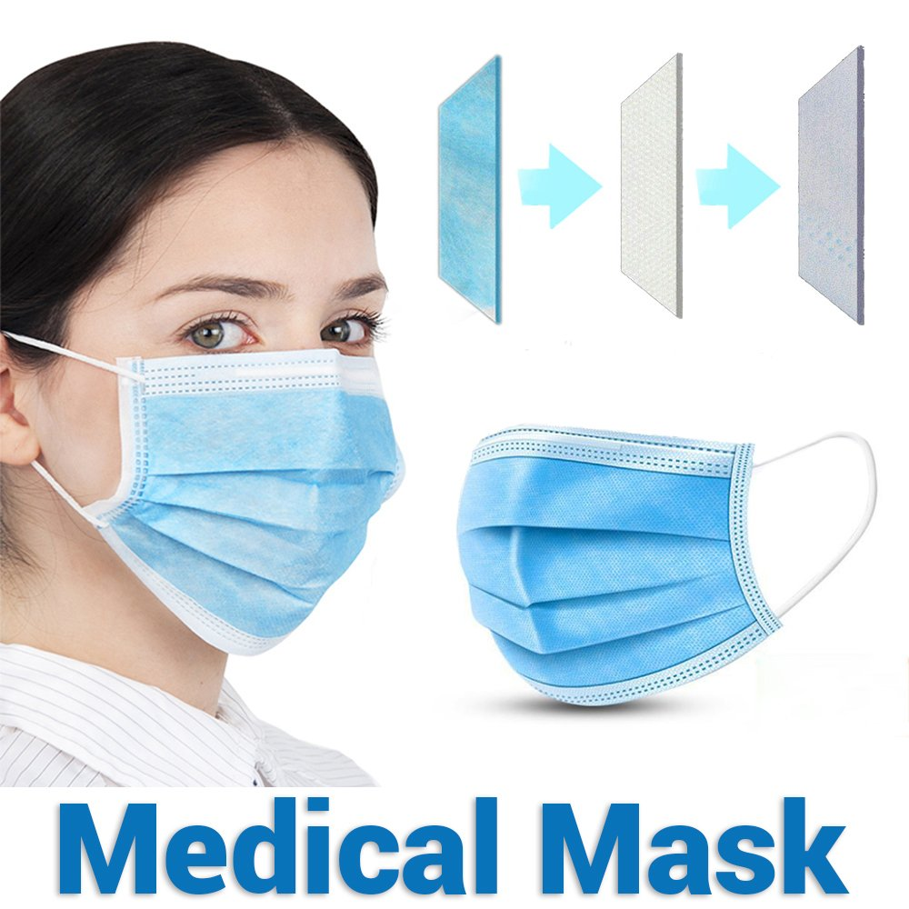 medical masks surgical four layer
