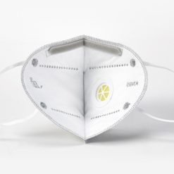 KN95 Respirator Face Mask with Exhalation Valve Filter from the inside