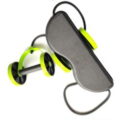Ab Wheel Roller with Resistance Band