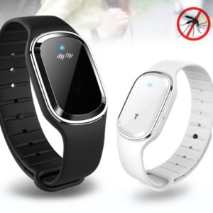 Ultrasonic Mosquito Repellent Wristband Watch