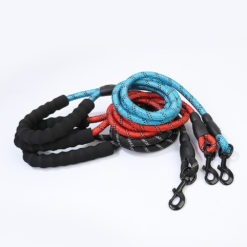 Heavy Duty Rope Dog Leash with Reflective Threads