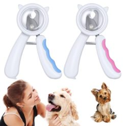 Nail Clipper for Dogs and Cats Scatter-proof with Nail Filer