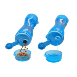 2 in 1 Portable Dog Food and Water Bottle