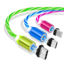 Glowing LED Magnetic Phone Charger USB Cable