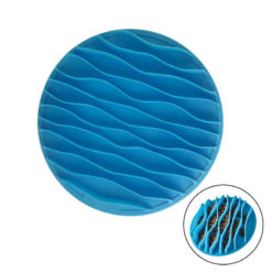 Silicone Slow Feeder Wave Bowl for Pets