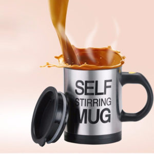 Stainless Self Stirring Mug