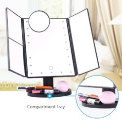 Vanity Makeup Mirror with Lights and Magnifiers