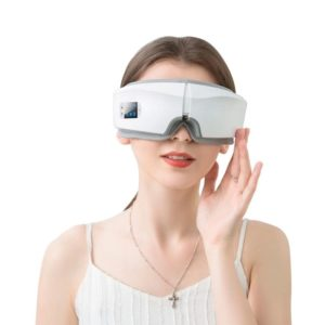 4D Wireless Eye Massager com Hot Compress e Bluetooth