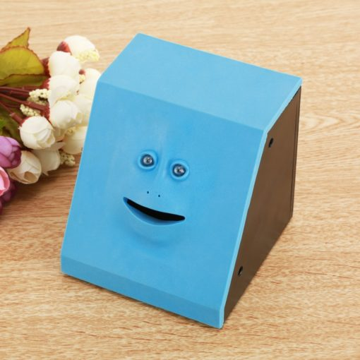 Funny Moving Face Money Eating Coin Bank