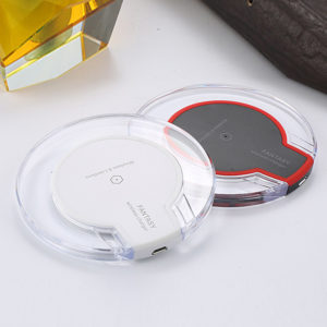QI Wireless Charging Pad Clear Design